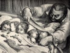Le Petit Poucet, illustré par Gustave Doré
